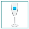 6 oz Napa Flute Glass Custom Printed