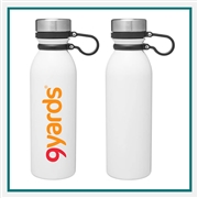 H2GO Concord 20.9 Oz Stainless Steel Water Bottle Custom Printed, H2GO Branded Water Bottles, H2GO Corporate & Group Sales