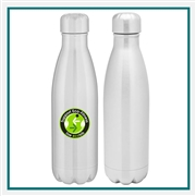 H2GO 17 Oz Force Water Bottle with Custom Printed Logo, H2GO Odin Custom Branded, H2GO 91550, H2GO 91592, H2GO Custom S'well Bottles