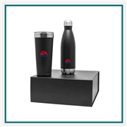 Polar Thermal Tumbler/H2GO Force Select Gift Set Custom Logo