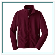 Port Authority Value Fleece Jacket F217, Port Authority Promotional Jackets, Port Authority Custom Logo