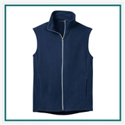 Port Authority Microfleece Vest F226, Port Authority Promotional Vests, Port Authority Custom Logo