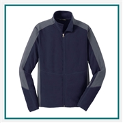 Port Authority Colorblock Microfleece Jacket F230, Port Authority Promotional Jackets, Port Authority Custom Logo