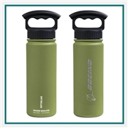 Fifty Fifty 18 Oz. Bottle With Wide Mouth 3 Finger Lid Personalized