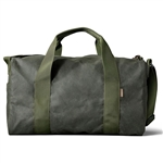 Filson Medium Tin Cloth Field Duffle Bag 11070015 with Custom Embroidery, Filson Custom Backpack Bags, Filson Corporate Logo Gear