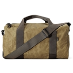 Filson Small Tin Cloth Field Duffle Bag 11070110 with Custom Embroidery, Filson Custom Backpack Bags, Filson Corporate Logo Gear