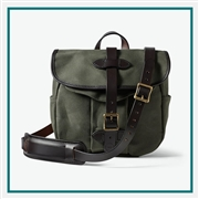 Filson Small Rugged Twill Field Bag 11070230 with Custom Embroidery, Filson Custom Backpack Bags, Filson Corporate Logo Gear