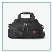 Filson Ballistic Nylon Duffle Pack 20019935 with Custom Embroidery, Filson Custom Backpack Duffle Bags, Filson Corporate Logo Gear
