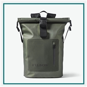 Filson Dry Backpack 20067743 with Custom Embroidery, Filson Custom Backpack Bags, Filson Corporate Logo Gear
