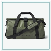 Filson Medium Dry Duffle Bag 20067745 with Custom Embroidery, Filson Custom Duffle Bags, Filson Corporate Logo Gear