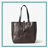 49851b529f Filson Weatherproof Leather Tote Bag 20069580 with Custom Embroidery