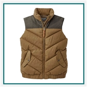 Filson Women's Featherweight Down Vest Custom Embroidery