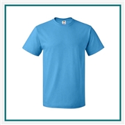 Fruit of the Loom Heavy Cotton HD T-Shirt 3930. with Custom Embroidery, Custom Embroidered Port & Company T-Shirts, Fruit of the Loom 3930 T-Shirt Best Price