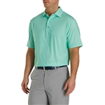 FootJoy Men's Heather Lisle Houndstooth Self Collar Custom Embroidered