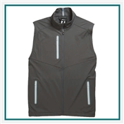 FootJoy Men's Lightweight Softshell Vest Custom Embroidered