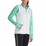 FootJoy Women's Knit Full-Zip Vest Women Custom Embroidered
