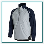 FootJoy Men's DryJoys Select LS Rain Shirt Custom Embroidered