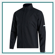 FootJoy Men's FJ HydroLite Rain Jacket Zip-Off Sleeves Custom Branded
