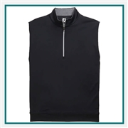 FootJoy Men's Jersey Vest Pullover Custom Embroidered
