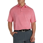 FootJoy Men's Lisle Space Dyed Polo Custom Embroidered