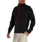 FootJoy Men's Ribbed Sweater Fleece Jacket Custom Embroidered