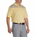 FootJoy Men's Lisle Color Block Top Knit Collar Custom Embroidered