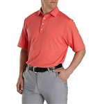 FootJoy Men's Lisle Solid Self Collar Custom Embroidered