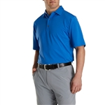 FootJoy Men's Lisle Solid 4 Dot Jacquard Yoke Self Collar Custom Embroidered