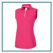 FootJoy Women's ProDry Interlock Sleeveless Shirt Custom Embroidered