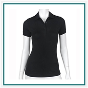 Fairway & Greene Ladies Reese Polo with Custom Embroidery, Fairway&Greene Corporate Polos, Fairway&Greene Branded Polo