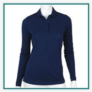 Fairway & Greene Ladies' Jeni Polo with Custom Embroidery, Fairway & Greene Jeni G32231-BL Corporate Suppliers, Fairway & Greene ASI Suppliers, Fairway & Greene Corporate Apparel, Luxury Golf Shirts with Logo