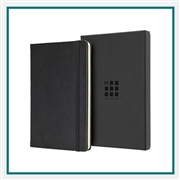 Moleskine Leather Ruled Large Notebook Custom Logo