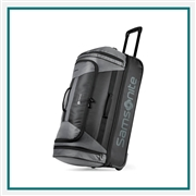 "Samsonite Andante 2 28"" Drop Bottom Wheeled Duffel 100160, Samsonite Promotional Duffel Bags, Samsonite Custom Logo"