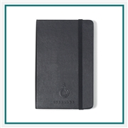 Moleskine Hard Cover Plain Pocket Notebook Deboss Logo