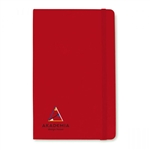 Moleskine Hard Cover Squared Large Notebook with Custom Printed Logo, Customized Moleskine Notebooks, Moleskine Corporate Gifts