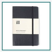 Moleskine Soft Cover Pocket Notebook Deboss Logo