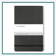 Moleskine Hard Ruled Lrg Reporter Notebook Deboss Logo