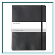 Moleskine Soft Cover Ruled XL Notebook Deboss Logo