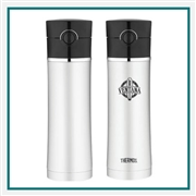 Thermos 16 Oz Direct Drink Bottle with Custom Engraving, Custom Logo Thermos Travel Tumblers, Custom Engraved Thermos Tumblers, Corporate Thermos Bottles, Thermos Custom Logo, Custom Thermos, Thermos Corporate Sales