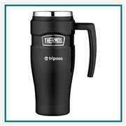 Thermos 16 Oz Stainless King Travel Mug with Custom Engraving, Custom Logo Thermos Travel Mugs, Custom Engraved Thermos Tumblers, Corporate Thermos Bottles, Thermos Custom Logo, Custom Thermos, Thermos Corporate Sales
