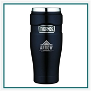 Thermos 16 Oz Stainless King Travel Tumbler with Custom Engraving, Custom Logo Thermos Travel Tumblers, Custom Engraved Thermos Tumblers, Corporate Thermos Bottles, Thermos Custom Logo, Custom Thermos, Thermos Corporate Sales