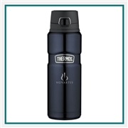 Thermos 24 Oz.Stainless King Direct Drink Bottle  with Custom Engraving, Custom Logo Thermos Water Bottles, Custom Engraved Thermos, Corporate Thermos Bottles, Thermos Custom Logo, Custom Thermos, Thermos Corporate Sales