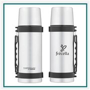 Thermos 1.1 Q ThermoCafe Beverage Bottle with Custom Engraving, Custom Logo Thermos ThermoCafe Bottle, Custom Engraved Thermos Beverage Bottles, Corporate Thermos Bottles, Thermos Custom Logo, Custom Thermos, Thermos Corporate Sales