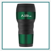 Thermos 16 Oz Travel Tumbler with Grip with Custom Engraving, Custom Logo Thermos Travel Tumblers, Custom Engraved Thermos Tumblers, Corporate Thermos Bottles, Thermos Custom Logo, Custom Thermos, Thermos Corporate Sales
