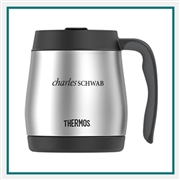 Thermos 16 Oz Stainless Desk Mug with Custom Engraving, Custom Logo Thermos Desk Mugs, Custom Engraved Thermos Tumblers, Corporate Thermos Bottles, Thermos Custom Logo, Custom Thermos, Thermos Corporate Sales