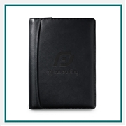 Samsonite Perry Leather Junior Padfolio 95066 With Custom Deboss logo, Samsonite Promotional Padfolios, Samsonite Corporate Padfolios