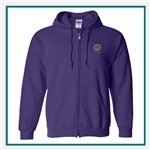 Heavy Blend Full-Zip Hooded Sweatshirt 18600 with Custom Embroidery, Custom Embroidered Gildan Sweatshirts, Gildan 18600 Sweatshirt Best Price