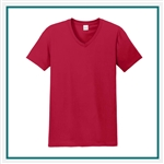 Gildan Softstyle V-Neck T-Shirt with Custom Embroidery, Custom Embroidered Gildan T-Shirts, Gildan 64V00 T-Shirt Best Price