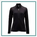 Greg Norman Ladies Ottoman Knit Jacket Custom Embroidered