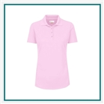Greg Norman Women's Short Sleeve Play Dry Protek Micro Pique Polo Custom Embroidered